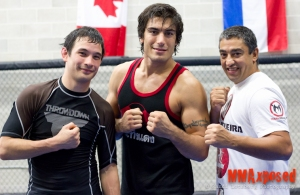 Training camp at Empire MMA Barrie